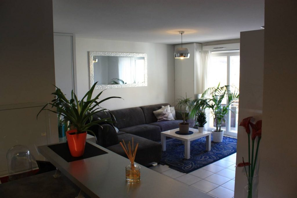 VILLENAVE D'ORNON Appartement T3 64 m² balcon, parkings