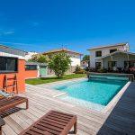 Le Bouscat › Maison T6 de 121 m² avec jardin et piscine